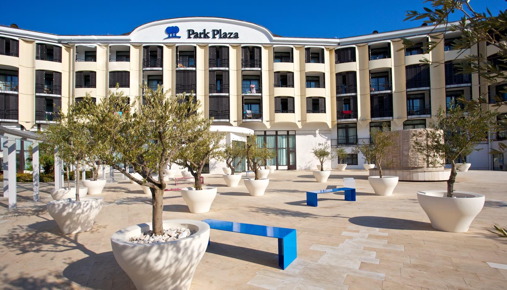 Hotel park plaza histria pula hotel arenaturist for Plaza hotel
